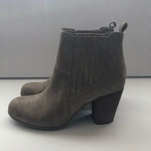 Madden Girl Taupe Booties/ Ankle Boots